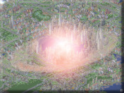 A NUKE in SimCity 3000!!! no.... not really (simulated)